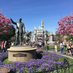A beautiful day here at #Disneyland by randycrawford73
