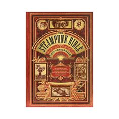 Liven your steampunk lifestyle with this thrilling hardcover homage to the genre. Thd stunning Steampunk Bible features 150 gorgeous color illustrations and an extensive account of the origins a...  Find the Steampunk Bible Hardcover, as seen in the The Publishing House Collection at http://dotandbo.com/collections/the-publishing-house?utm_source=pinterest&utm_medium=organic&db_sku=113315