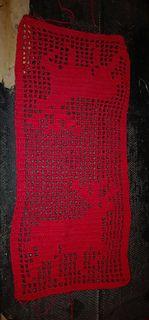 Duken blir ca 25 cm bred, lengden bestemmer man selv ved å hekle flere rader på midten Crochet Top, Pattern, Design, Women, Fashion, Moda, Women's, La Mode, Fasion