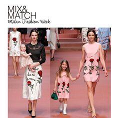 A Dolce & Gabbana apresentou na passarela da Milan Fashion Week uma celebração especial ao universo feminino: a maternidade, detalhes super românticos como tiaras e rendas e muitas flores continuam no caminho dessa mulher forte e maravilhosa que é a cara da Maison. Adoramos!