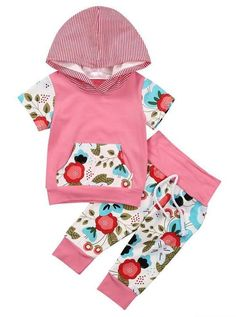 Fun Floral Baby Girl Outfit