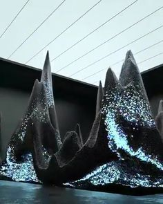 Greece Discover Maxim Zhestkov Artistic visual of Oppo Why: Something for attendees to marble at Cute Car Accessories, Interactive Art, Kinetic Art, Futuristic Art, Generative Art, Illusion Art, Animation, Stage Design, Light Art