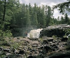 Dead River Falls, Marquette Michigan