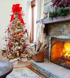 My Holiday Brown Wood Mantel Decorating Ideas   Christmas Red Living Room #christmasmantel #christmasdecor #redchristmasdecor Christmas Tree Decorating Tips, Christmas Tree Themes, Christmas In July, Decorating Ideas, Coastal Christmas, Outdoor Christmas, Holiday Decorations, Holiday Ideas, Christmas Ideas