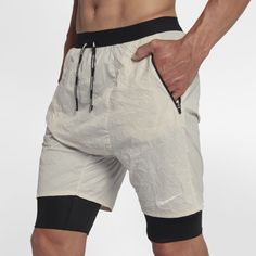 2edc3b746449 Nike Flex Run Division Stride Elevate Men s 2-in-1 Running Shorts Size XL