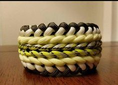 Wide Sanctified Paracord Bracelet