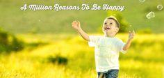 Lasst uns zusammen eine Millionen Gründe finden glücklich zu sein. Sag uns was GLÜCK für Dich ist - in einem Bild in den Kommentaren.  Sieh was andere sagen: http://www.artofliving.org/happiness