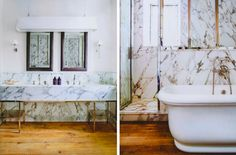 Gilles and Boissier Marble Bathroom