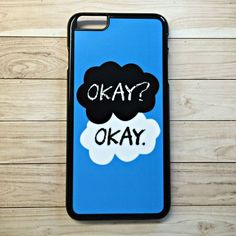 """Handmade """"The Fault In Our Stars"""" Inspired """"Okay? The Fault In Our Stars, Its Okay, Phone Cases, Handmade, Inspired, Its Ok, Hand Made, Tfios, Handarbeit"""