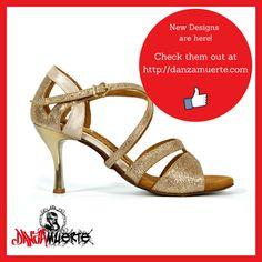 New Arrivals!! Check them out! #latin #dancing #shoes ✔ http://danzamuerte.com/go/pro-1010