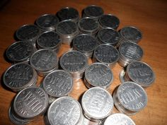 250 MATCHING PACHISLO .984 SILVER TOKENS NONMAGNETIC PINBALL ARCADE VIDEO SLOTS