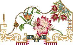Hd Flowers, Botanical Flowers, Floral Print Background, Floral Prints, Border Pattern, Pattern Art, Egypt Jewelry, Boarder Designs, Paisley Art