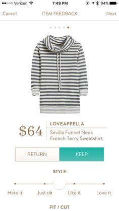 Love this Sitch a Fix sweatshirt!
