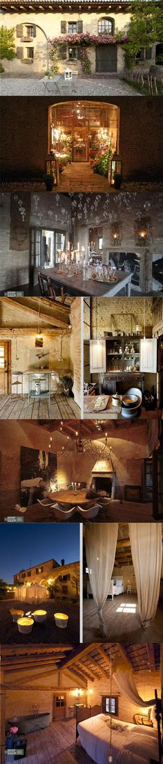 Locanda Rosa Rosae, Italy. I could literally live here. #dreamhome #rustic #letsmovetoitaly