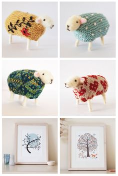 bibidebabideboo:  Mary Kilvert: Woolly Sheep (Cari Mateo: Mary Kilvertから)