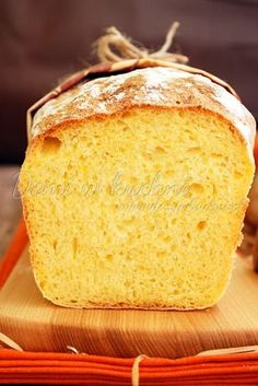 Chlebek dyniowy Mango, Thanksgiving, Bread, Baking, Cake, Sweet, Food, Diet, Kitchens