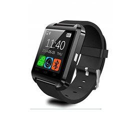 Houzon U8 - SmartWatch Bluetooth V3.0 (EDR, pantalla táctil, Android) color negro #ofertas #regalos #regalar #tienda #madrid #españa