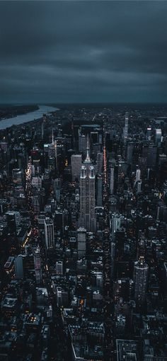 Empire State Building iPhone X wallpaper #night #light #sky #skyscraper #NewYork #NY #aerialview #UnitedStates #Wallpaper #Background #iPhoneX #iPhoneXS #iPhoneXR