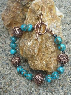 I love turquoise  <3 .... I have made this