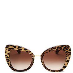 78b0c76c386 Dolce   Gabbana Cat Eye Sunglasses