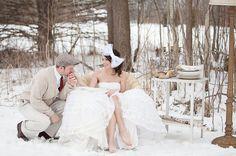 Winter Wedding Ideas On A Budget - Wedding Ideas, Wedding Trends . Snow Wedding, Winter Wonderland Wedding, Budget Wedding, Wedding Trends, Wedding Pictures, Wedding Ceremony, Wedding Venues, Dream Wedding, Wedding Ideas