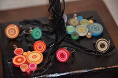 Quilled paper..