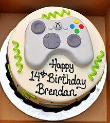 My oldest son's XBOX Birthday Cake