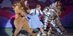 Wizard Of Oz Musical, Yellow Brick Road, Musicals, It Cast, Princess Zelda, Watch, Twitter, Fictional Characters, Clock