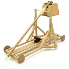Pathfinders - Build A Wooden Da Vinci Trebuchet