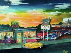 Friday Night by Tim Loughner