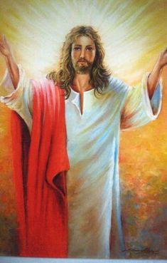JESUS CRISTO | Atelier de Pintura Simone Pigiani | Elo7