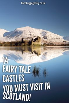 Fairy tale castles to visit in Scotland