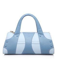 Look at this #zulilyfind! Blue Sky Leala Leather Satchel #zulilyfinds