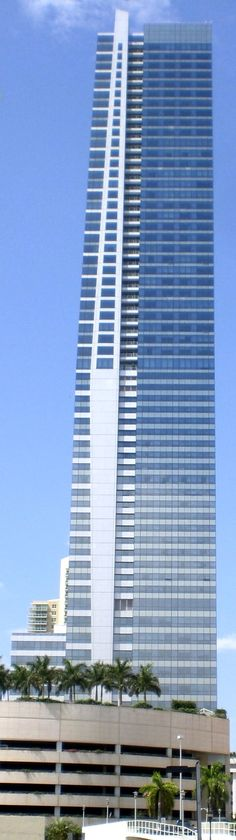 Four Seasons Tower. Miami FL - 789ft.  Tallest building in Miami and Florida.