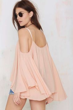 Ticket to Ride Peasant Blouse - Nasty Gal