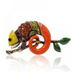 Buy CINDY XIANG Colorful Enamel Lizard Brooches for Women Rhinestone Vintage Animal Jewelry Creative Coat Suit Accessories Brooch at www. shipping to 185 countries. Suit Accessories, Handmade Accessories, Jewelry Accessories, Jewelry Sets, Handmade Bracelets, Handmade Jewelry, Women's Brooches, Vintage Closet, Beautiful Costumes