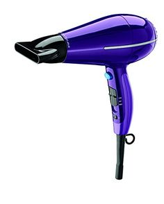 Shop for Conair Infiniti Pro Dual-Voltage Hair Dryer. Get free delivery On EVERYTHING* Overstock - Your Online Beauty Products Destination! Best Affordable Hair Dryer, Hair Dryer Brands, Industrial Design Sketch, Styling Tools, Hair Hacks, Cool Things To Buy, Hair Care, Purple, Compact