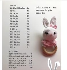 2019 All Best Amigurumi Crochet Patterns - Amigurumi Free Pattern The most admired amigurumi crochet toy models in 2019 are waiting for you in this article. The most beautiful amigurumi toy patterns are all on this site.Baby crochet teethers and pacifiers Doll Amigurumi Free Pattern, Amigurumi Tutorial, Crochet Doll Pattern, Amigurumi Doll, Crochet Dolls, Crochet Baby Toys, Crochet Bunny, Crochet Animals, Baby Knitting