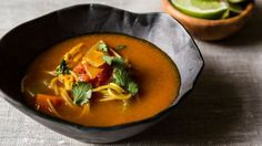 Easy and delish - Spicy Chicken Soup