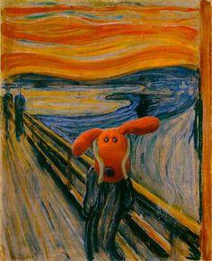 The scream- Puppy style