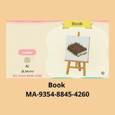 Motifs Animal, Book Names, Mood Boards, Animal Crossing, Custom Design, Places To Visit, Books, Gaming, Island