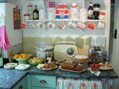 A very English kitchen.