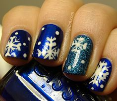 Bring On The Snow! (winter nails) (from The Swatching Sprite)