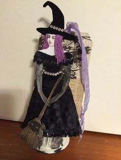 Character Construction Tag Swap:  Halloween The Good Witch by Sue Whittemore