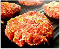 The Food Hussy!: Food Hussy Recipe: Heather's Best Burgers