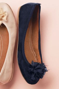 Buy Leather Pom Pom Ballerinas from the Next UK online shop Red Ballet Shoes, Ballerina Shoes, Next Uk, Uk Online, Casual Chic, Black Shoes, Peep Toe, Footwear, Flats