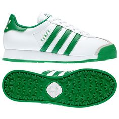 Adidas Samoa Shoes - Green