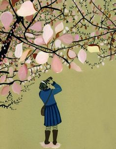 """""""making pictures"""" - what i want to do all spring. come on apple blossoms, bloom!"""