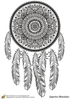 Home Decorating Style 2020 for Dessin A Imprimer Mandala Difficile, you can see Dessin A Imprimer Mandala Difficile and more pictures for Home Interior Designing 2020 at Coloriage Kids. Mandala Art, Mandalas Painting, Mandalas Drawing, Zentangles, Dream Catcher Coloring Pages, Coloring Book Pages, Vintage Diy, Mandala Coloring, Doodle Art