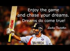 Stuff to get inspired: 15 Famous quotes by Sachin Tendulkar on Cricket and India Soccer Quotes, Sport Quotes, Sports Basketball, Kids Sports, Cricket Quotes, Famous Sports, Sachin Tendulkar, Cricket Sport, Quotes About Everything